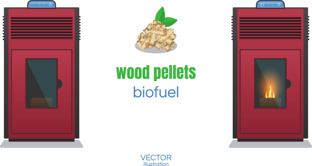 pellet stoves and bio fule wood pellets