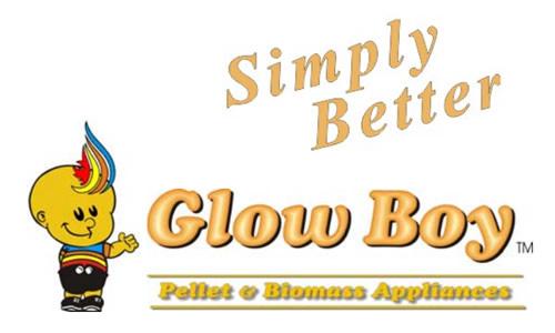 glow boy pellet stove logo